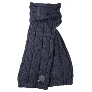 JP Cable Scarf in Navy