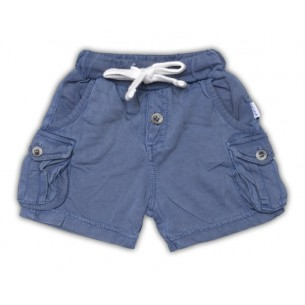 Super Soft Baby Shorts in Navy