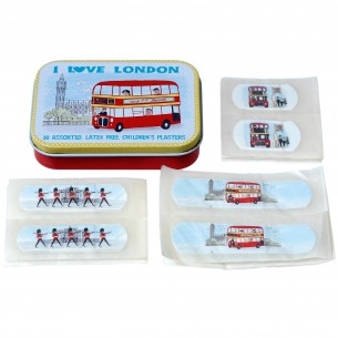 I Love London Tin with Plasters