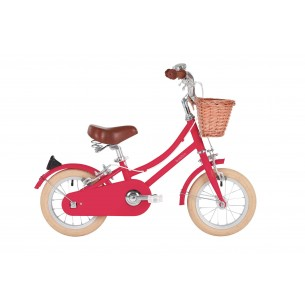 "Bobbin Gingersnap 12"" Pedal Bike Cerise Pink (3-4 years)"