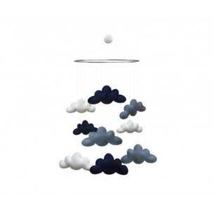 Cloud Mobile in Blue