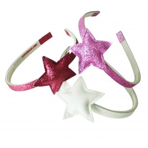 Hairband with Glitter Star