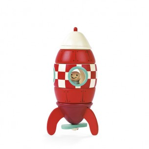 Small Magnetic Rocket