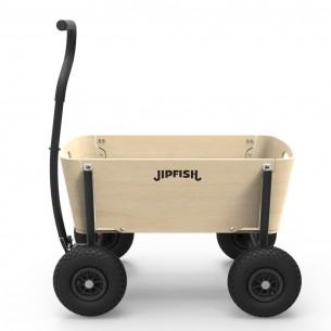 NEW EDITION - Jipfish Wagon in Natural Wood with Black Frame