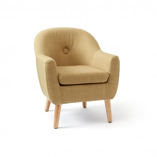 Armchair for Children in Yellow