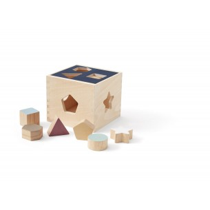Wooden Shape Sorter Box Aiden