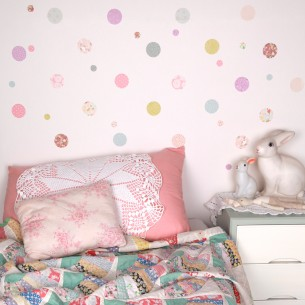 Pretty Polka Dots Wall Sticker