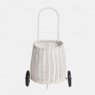 Luggy Basket in White