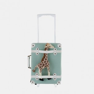 Kids Travel Suitcase See-Ya in Mint