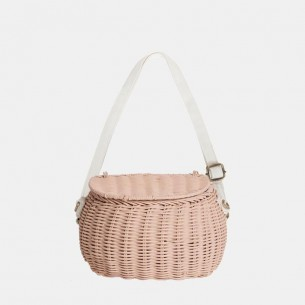 Mini Chari Basket Rose - New Colour 2019!