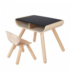 Plan Toys Set Table and Chair - Black