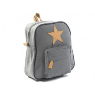 Star Backpack in Dark Grey