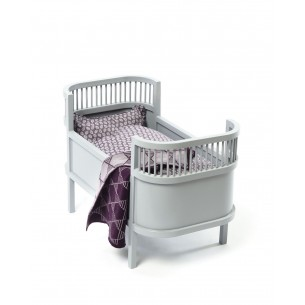 Doll Bed Rosaline Grey