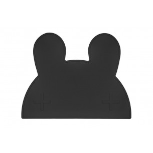 Placemat Bunny Black - We Might Be Tiny