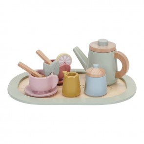 Wooden Tea Set Multicolour