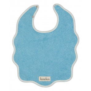 Bib with Snap Fasteners in Seven Colours