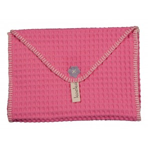 Antwerp Nappy Case in Hot Pink