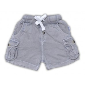 Super Soft Baby Shorts in Light Grey