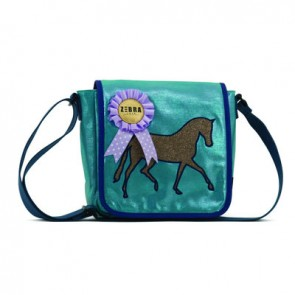 Bag in Mint with Horse