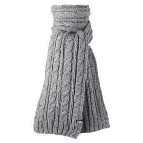 Lancelot Scarf in Heather Grey