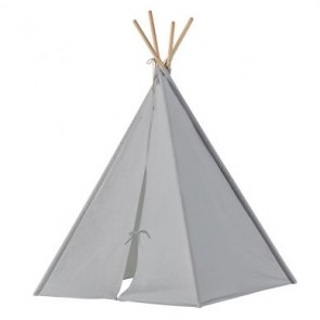 Grey Teepee Play Tent