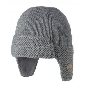 Yuma Beanie in Heather Grey