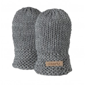 Yuma Mittens in Heather Grey