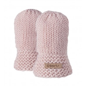 Yuma Mittens in Pink