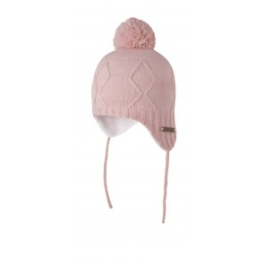 Molly Inka Hat in Powder Pink