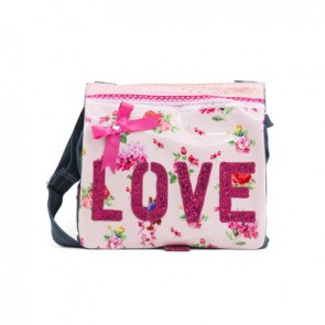 Flowery Junior Bag with Love