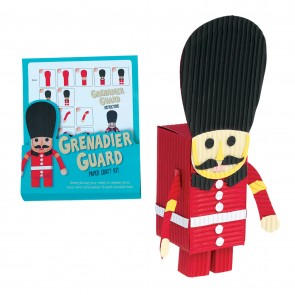 Grenadier Guard Paper Craft Kit