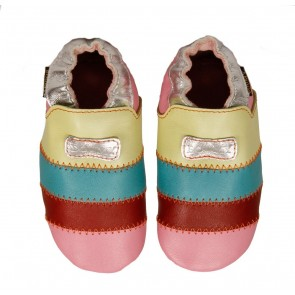 Boumy Baby Shoes Rainbow