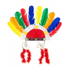 Colourful Indian Head Dress