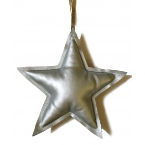 Decorative Silver Star