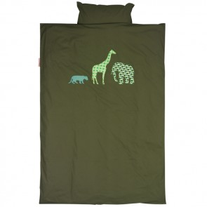 Single Bed Duvet Set Safari