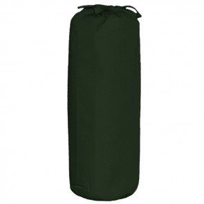 Single Bed Fitted Sheet in Mid Green