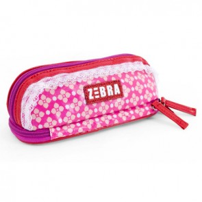 Pencil Case Pink Flowers