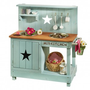Mud Kitchen 'Adventurer Star' in Petrol