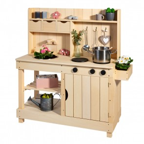 Mud Kitchen 'Explorer' in Natural