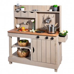 Mud Kitchen 'Explorer' Warm Grey