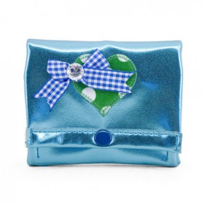 Mint Purse with Heart