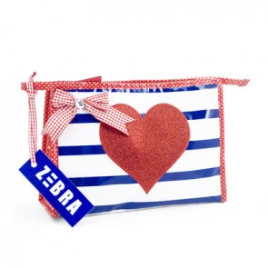 Stripy Toilet Bag