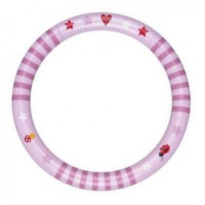 Pink Rattle Baby Charms