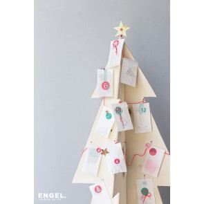 DIY Advent Calendar Gift Bags with Stickers
