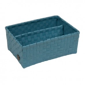 Bari Basket in Stone Blue
