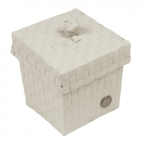 Small Ascoli Basket in Pale Grey