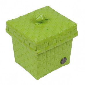 Small Ascoli Basket in Apple Green