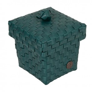 Small Ascoli Basket in Blue Green