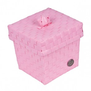 Small Ascoli Basket in Blossom Pink