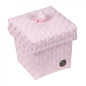 Small Ascoli Basket in Powder Pink